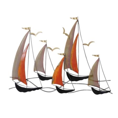 deco marine moderne voiliers en metal