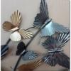 papillions en metal
