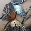 deco papillons en métal