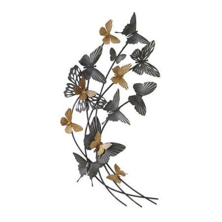 Décoration en Métal Papillons