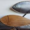 decoration marine bois metal