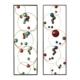 Décos Métal Abstraites Boules colorees