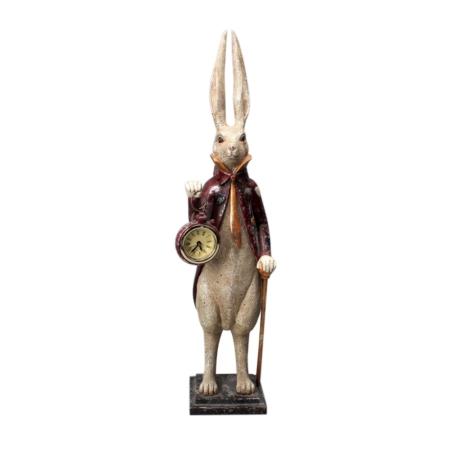 Statuette Vintage Lapin en Queue de Pie