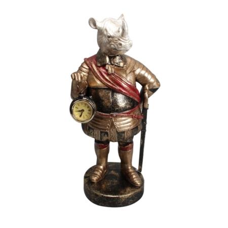 Statuette Rhinocéros Rétro