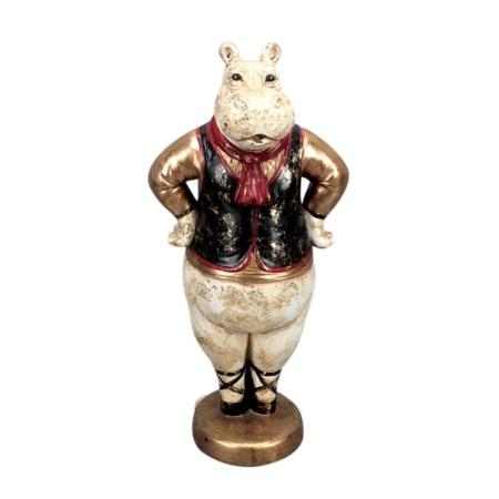 Statuette Vintage Hippopotame