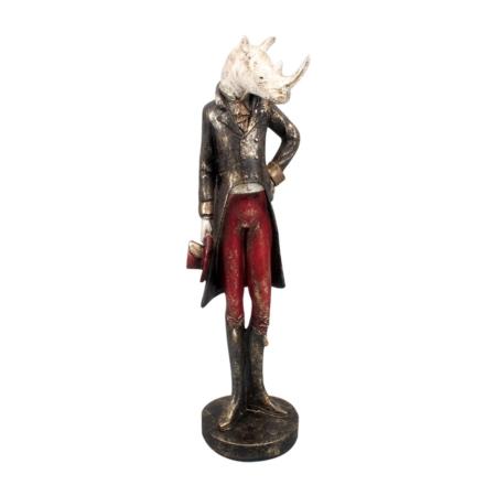 Statuette Rhinocéros Vintage