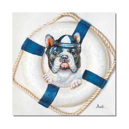 Tableau chien Marin