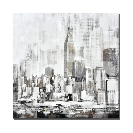 Tableau New York Noir et Blanc