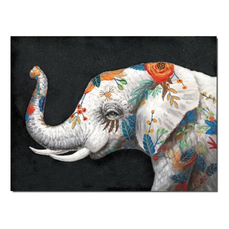 Toile Elephant Moderne
