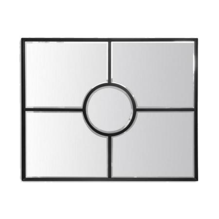 Miroir Fenêtre Noir Rétro