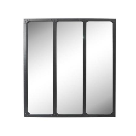 Miroir Verrière Noir 3 Bandes