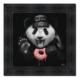 Tableau Panda Donut Sylvain Binet