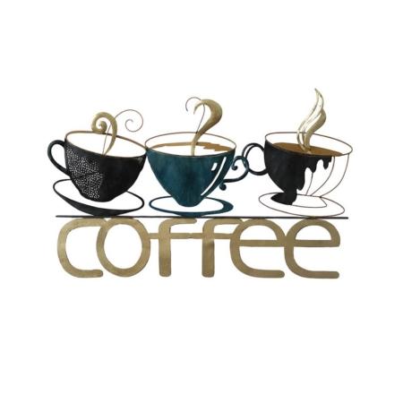 Déco Métal Coffee Pour La Cuisine
