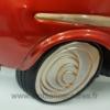 Décoration en Métal Voiture Américaine Rouge Vintage
