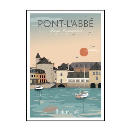 Affiche Pont L'Abbé Hortense