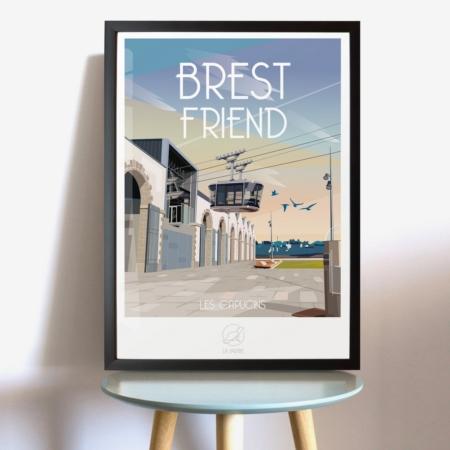 Affiche Brest Friend La Loutre