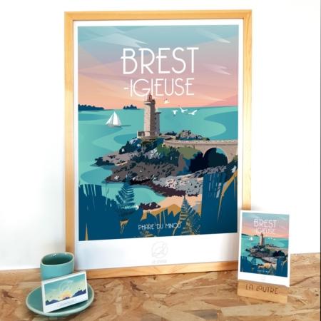 Affiche Brest Igieuse La Loutre
