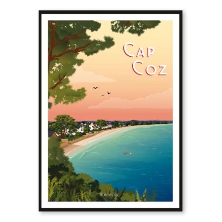 Affiche Cap Coz Hortense
