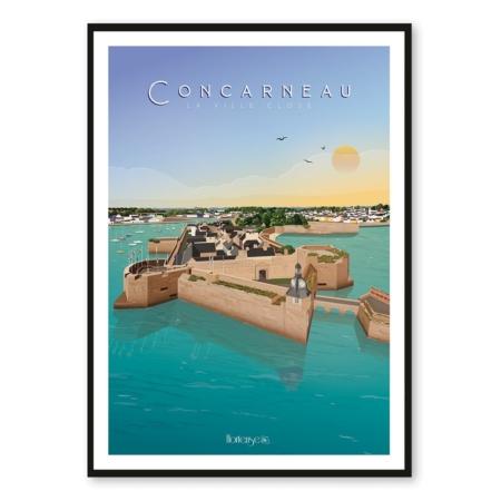 Affiche Concarneau Hortense