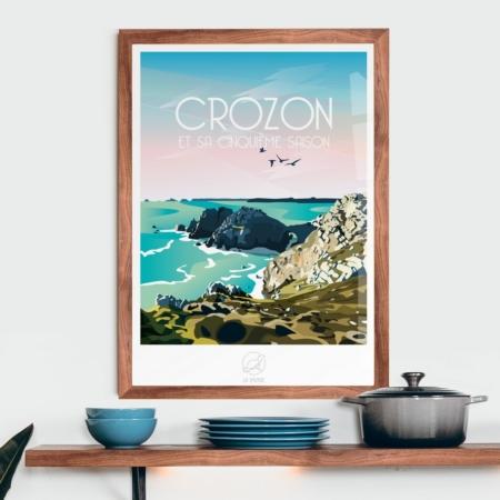 Affiche Crozon La Loutre