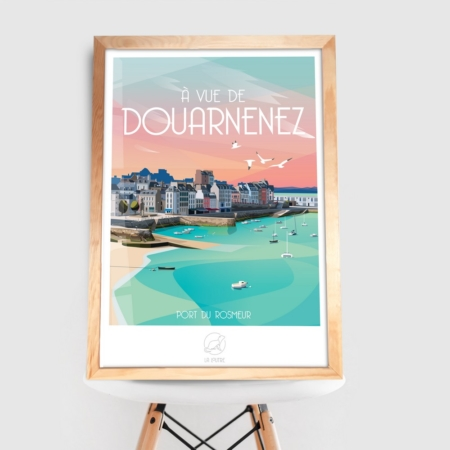 Affiche Douarnenez la Loutre
