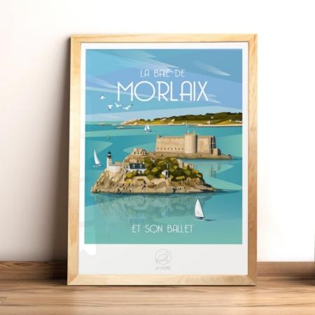 Affiche Baie de Morlaix La Loutre