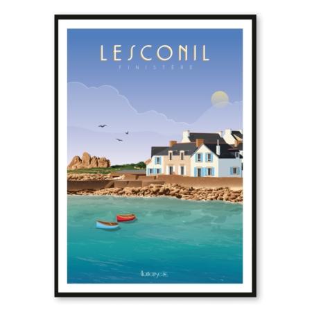 Affiche Lesconil Hortense