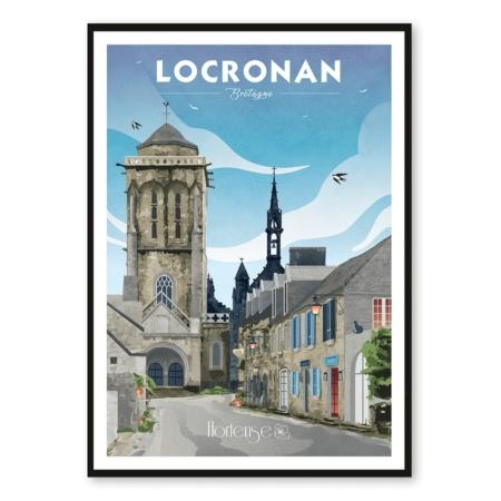 Affiche Locronan hortense
