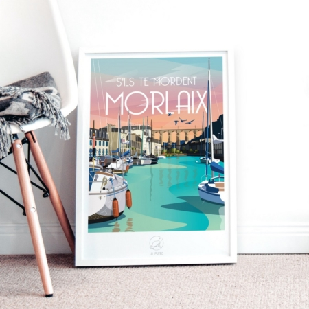 Affiche Morlaix La Loutre