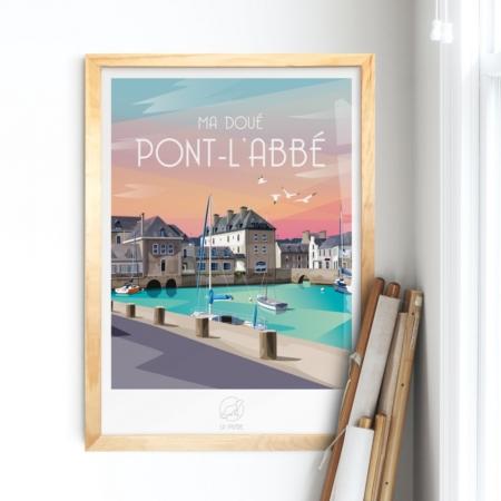 Affiche Pont L'Abbé La Loutre