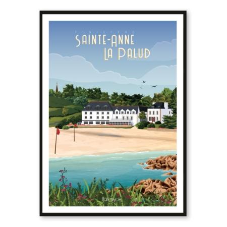Affiche Sainte Anne La Palud