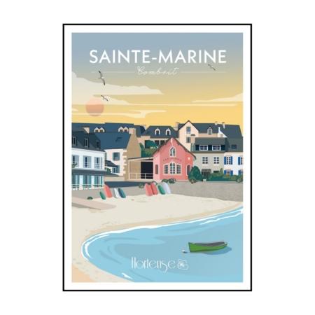 Affiche Sainte Marine Hortense