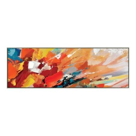 Tableau Rectangle Coloré Abstrait